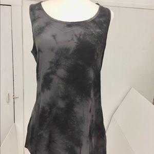 Flowy Tie Dye Silk Eileen Fischer Blouse